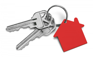 keys with red house